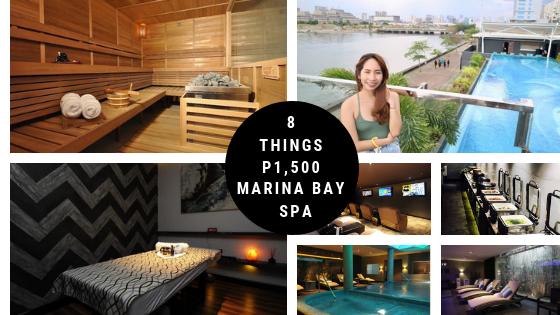 Marina Bay Spa moa